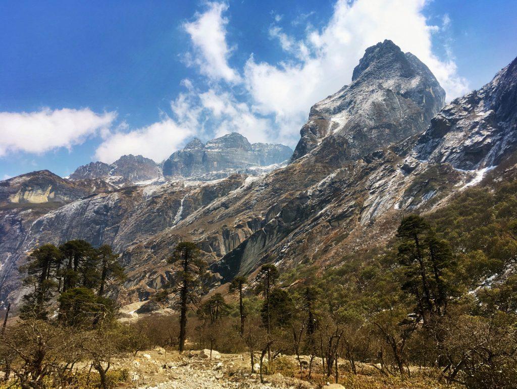 A trek to Makalu Base Camp in Nepal.